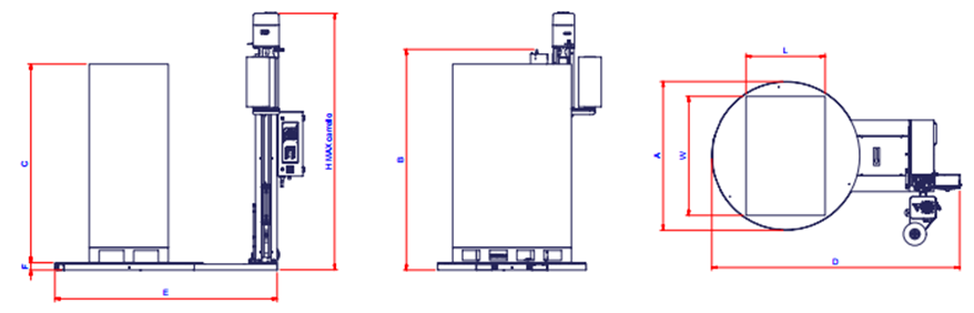 MME - Maquinaria y Materiales de Embalaje - Envolvedora T 1002 – T 12_1
