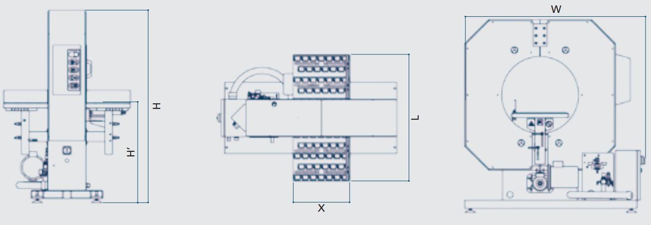 MME - Maquinaria y Materiales de Embalaje - Envolvedora Wrappy M4
