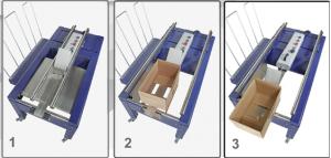 MME - Maquinaria y Materiales de Embalaje - Precintadora BOX 50 -65