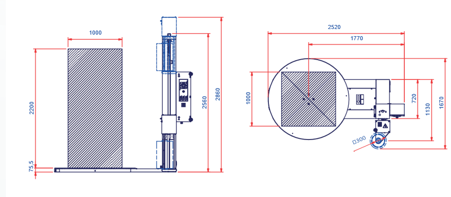 MME - Maquinaria y Materiales de Embalaje - Envolvedora Robot EKKO 201