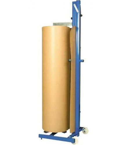 MME - Maquinaria y Materiales de Embalaje - carro porta bobina papel kraft